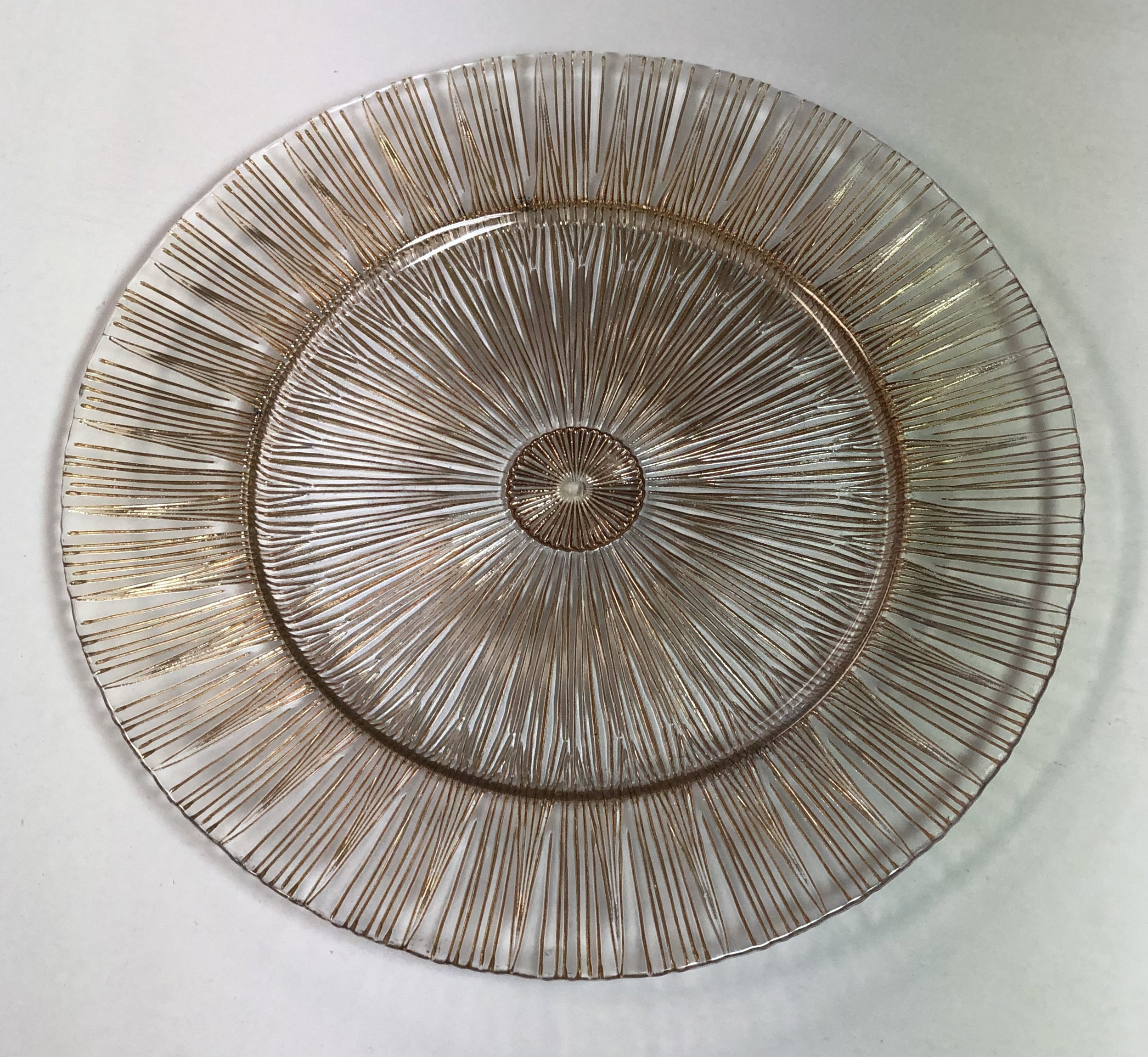 Stardust Glass Charger