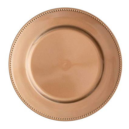 Copper Acrylic Charger