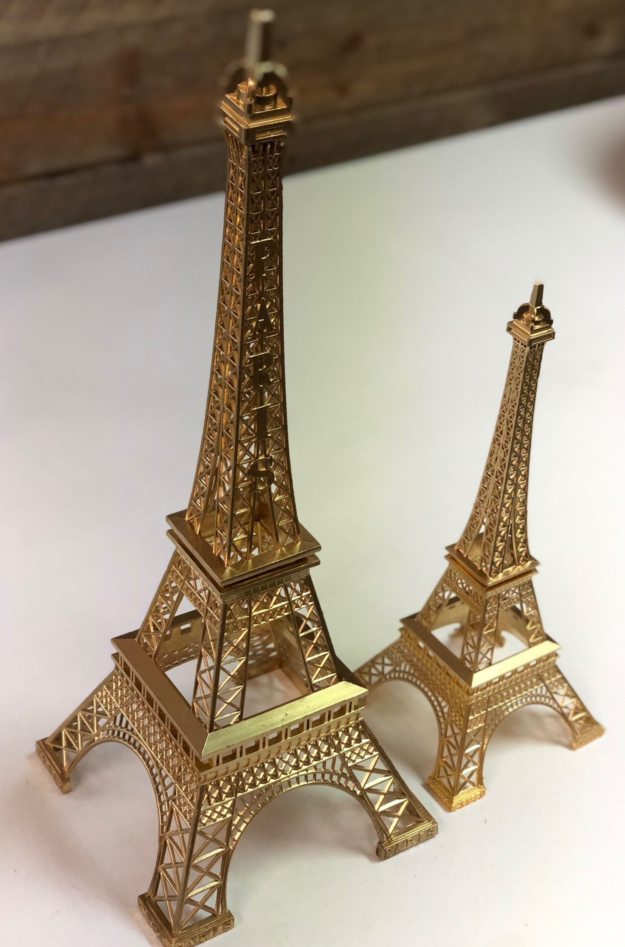 Eiffel Tower Gold or Silver available