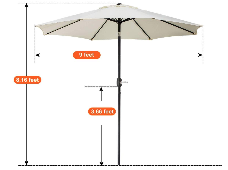 Ivory Umbrella
