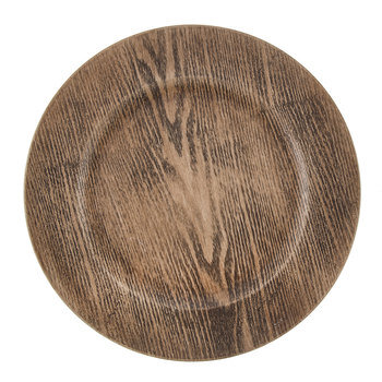 Wooden Acrylic Charger