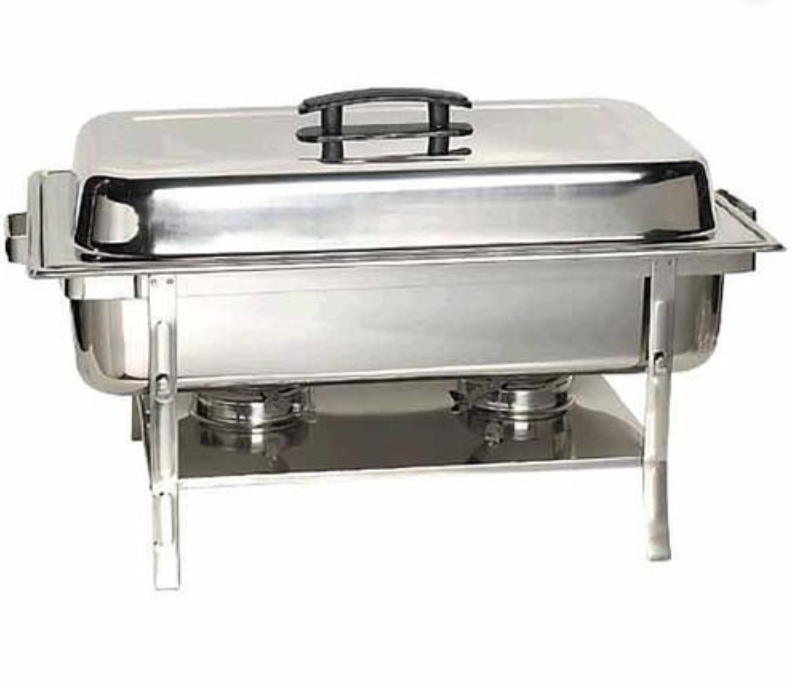 Stainless Steel Chafer  16.5 in x 12.2 in x 10.2 in
