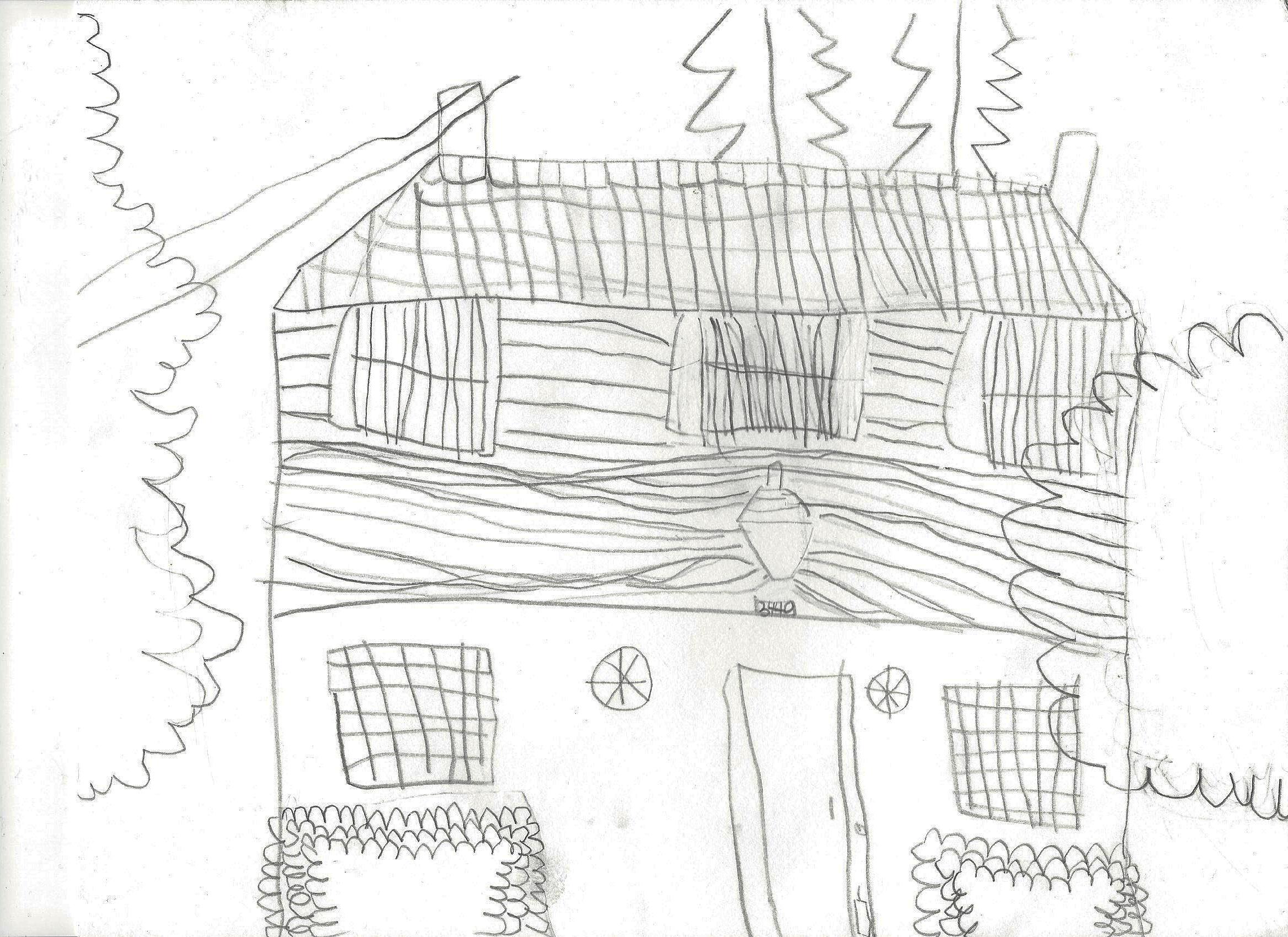 Artist rendering by  Nola Lee, Kindergartener  .