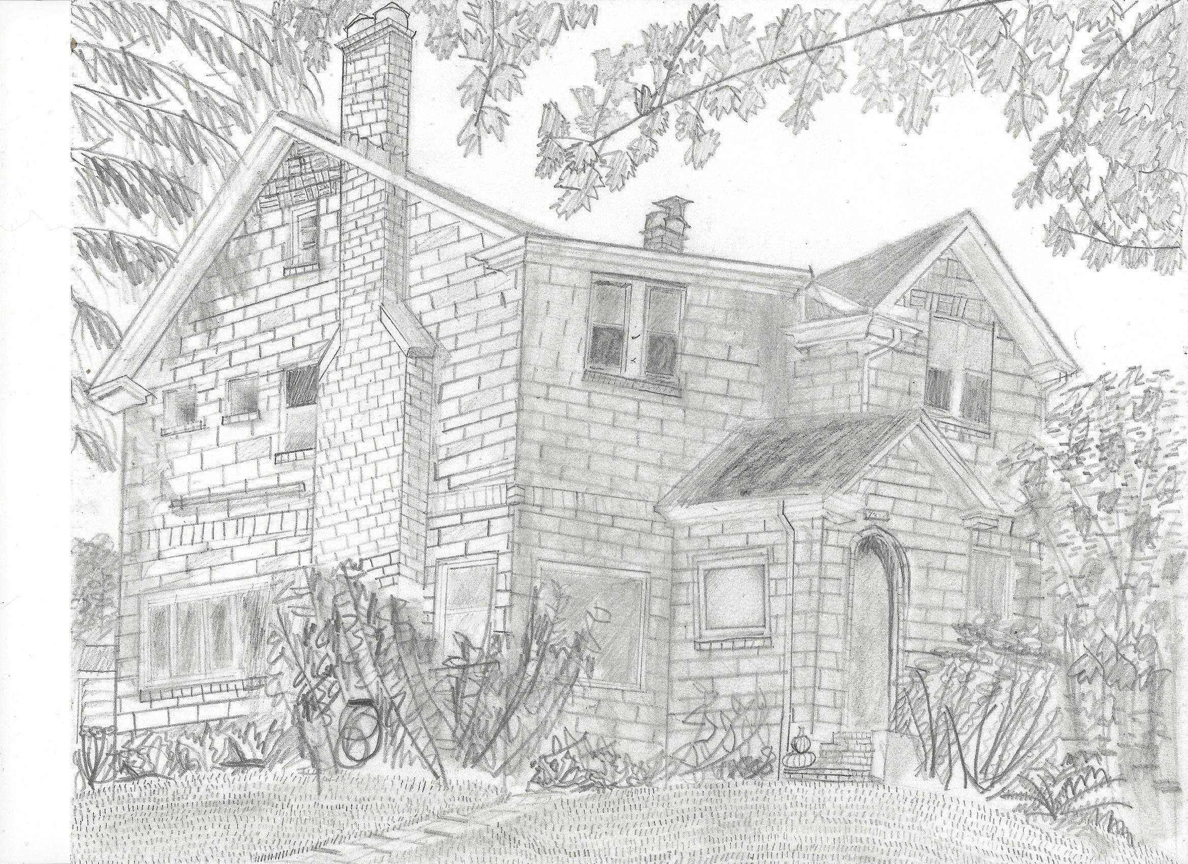 Artist rendering by  Derek Puppo, 5th grader.