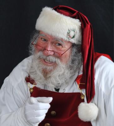 Santa will be here!