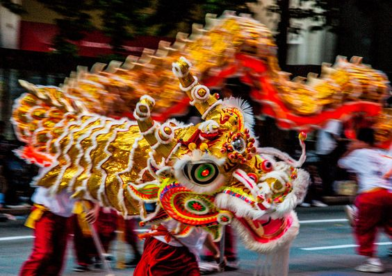 Chinese dragons are believed to bring luck and possess qualities like dignity, wisdom and fertility.