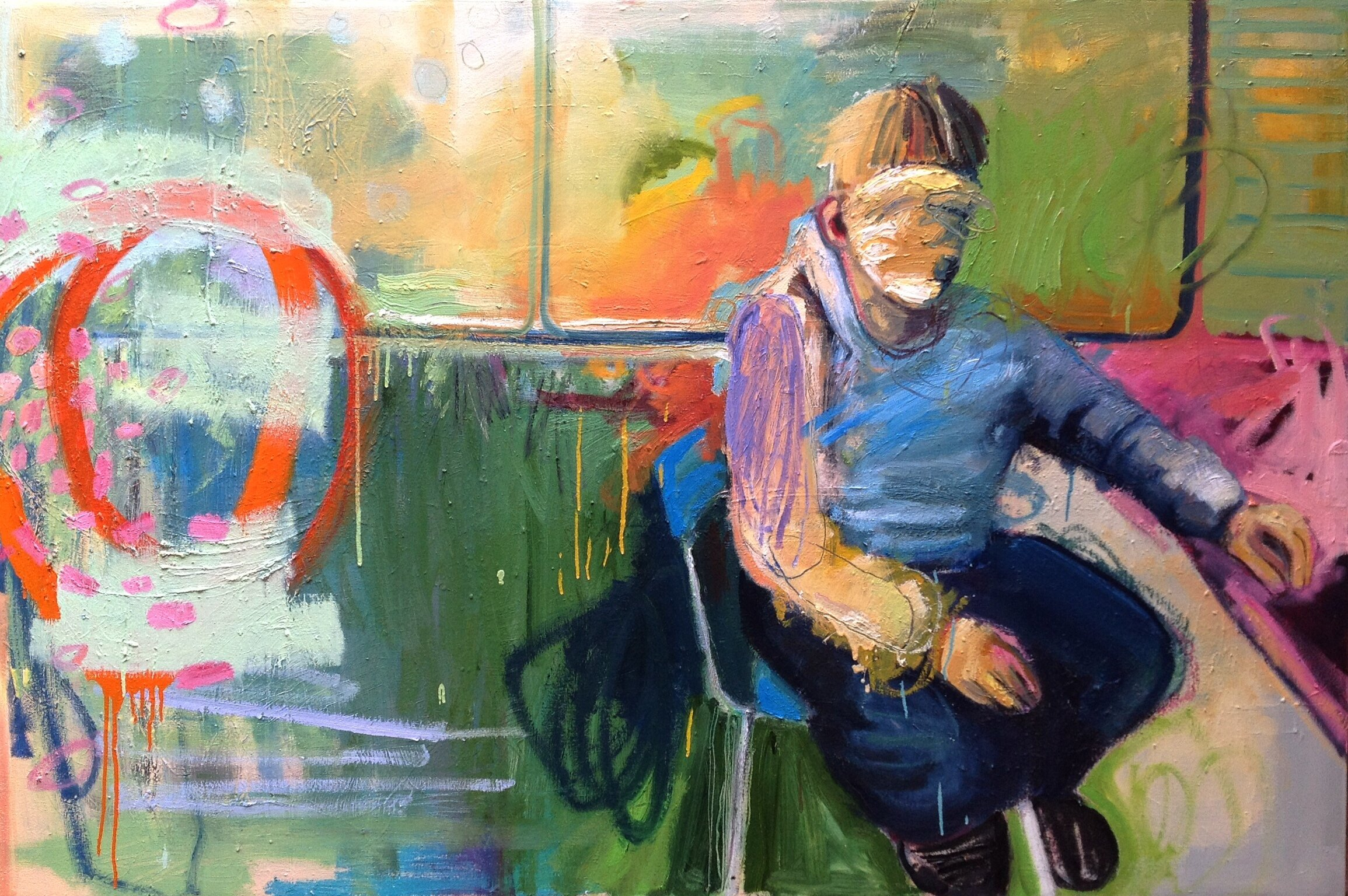 CRCT- Oil on Canvas-48 x 76 inches - SOLD