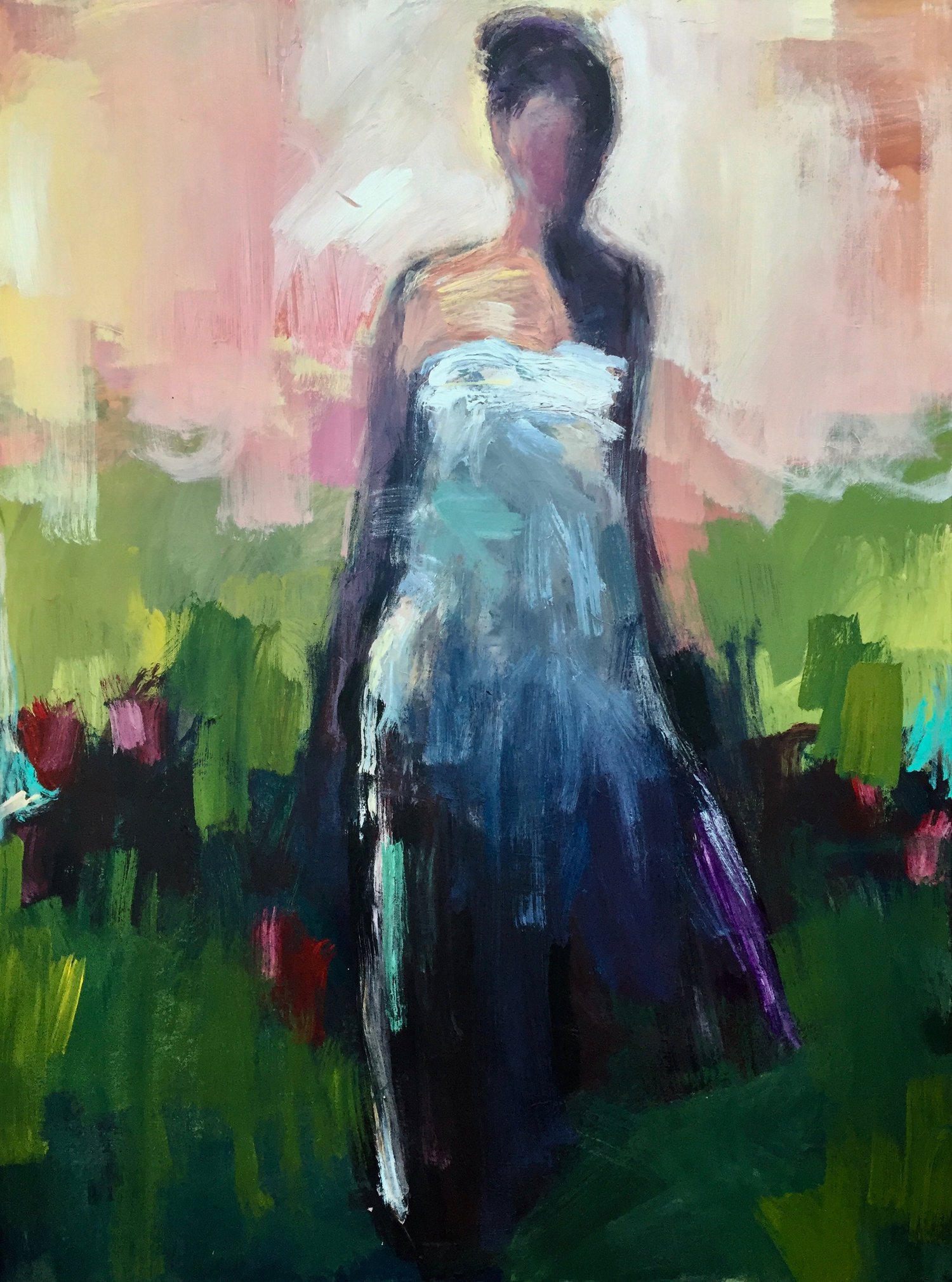 _Walk+of+Splendor_mixed+media+on+canvas_48 x 36 inches