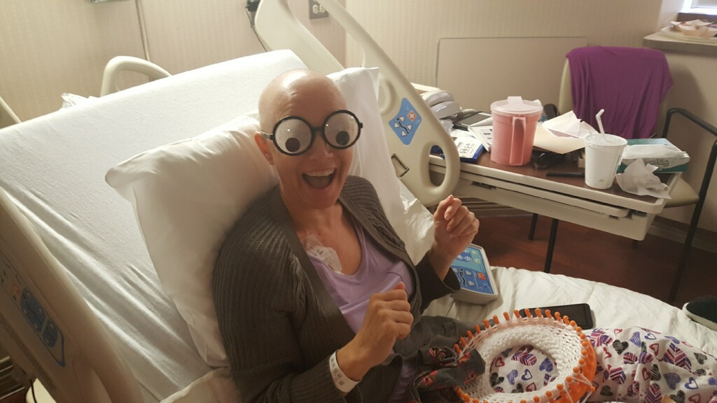 Gotta have some fun while getting chemo!
