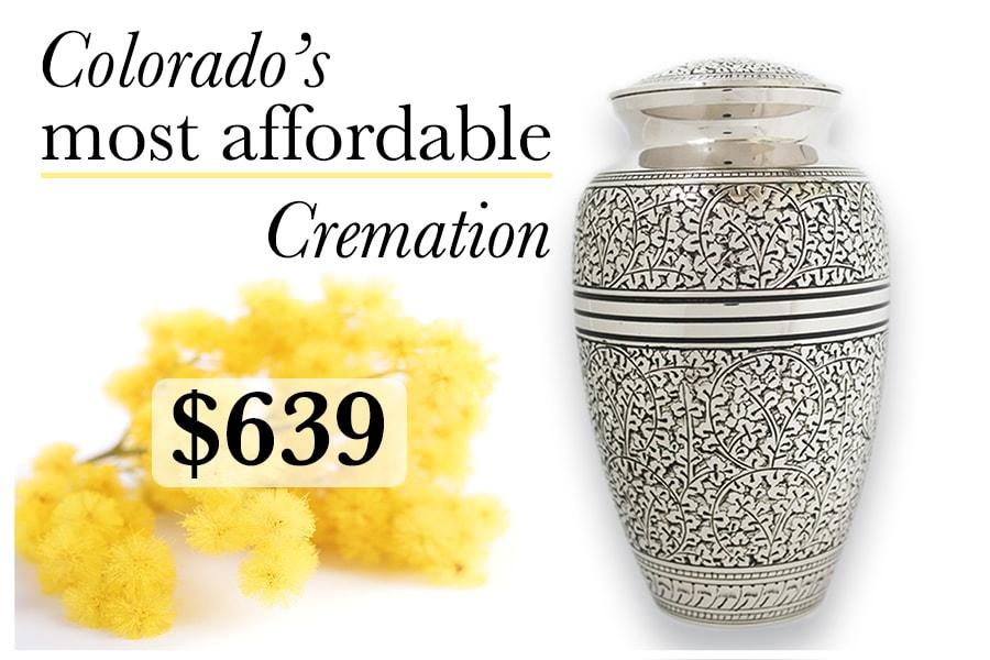 cremation package affordable denver colorado kramer