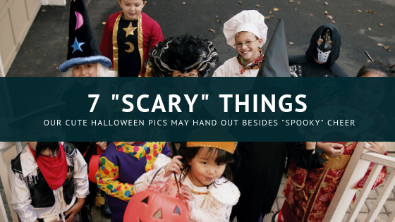 7 Scary Things Our Cute Halloween Pics May Hand Out Besides Spooky Cheer