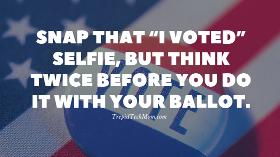 Snap That I Voted Selfie But Think Twice Before You Do It With Your Ballot