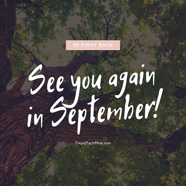 Howdy! I'll be right back. See you here again in #September. In the meantime, may we all enjoy these final days of #summer! ☀️ #childhoodunplugged #dadlife #dailyparenting #digitalparenting #fatherhood #digitalfootprint #fatherhoodunplugged #letthembelittle #MomLife #Motherhood #MotherhoodUnplugged #parenting #ParentLife #Parents #raisingthefuture  #SocialMedia #trepidtechmom #UnpluggedChildhood #modernparenting #momsofinstagram #screentime #parentingtips #digitaldetox
