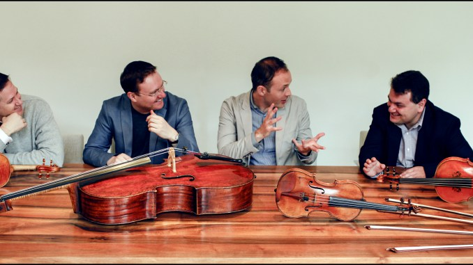 The Jerusalem Quartet; photo by Felix Broede