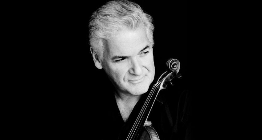 Conductor and violinist Pinchas Zukerman.