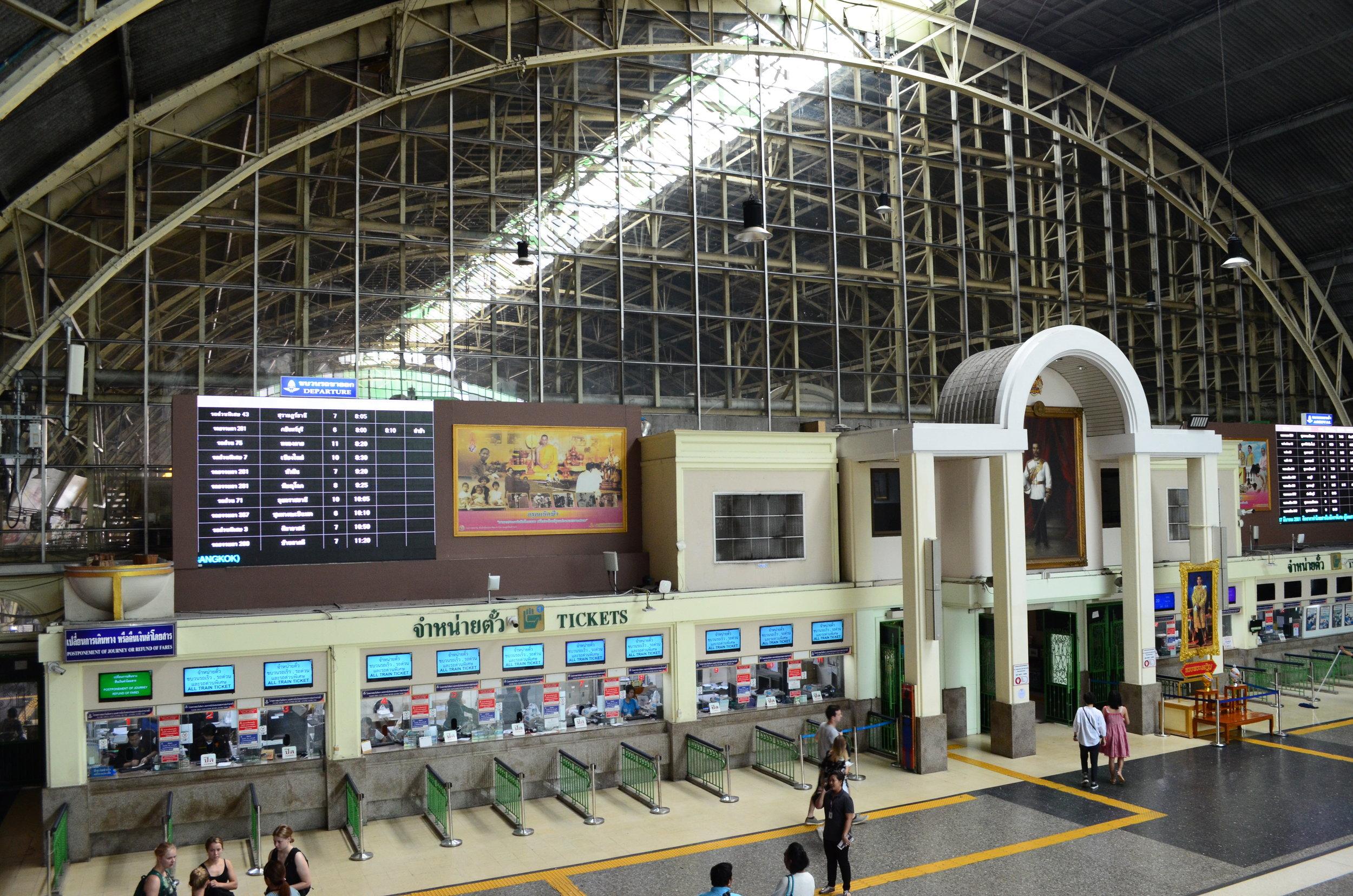 Hua Lamphong Railway Station, Bangkok, Thailand