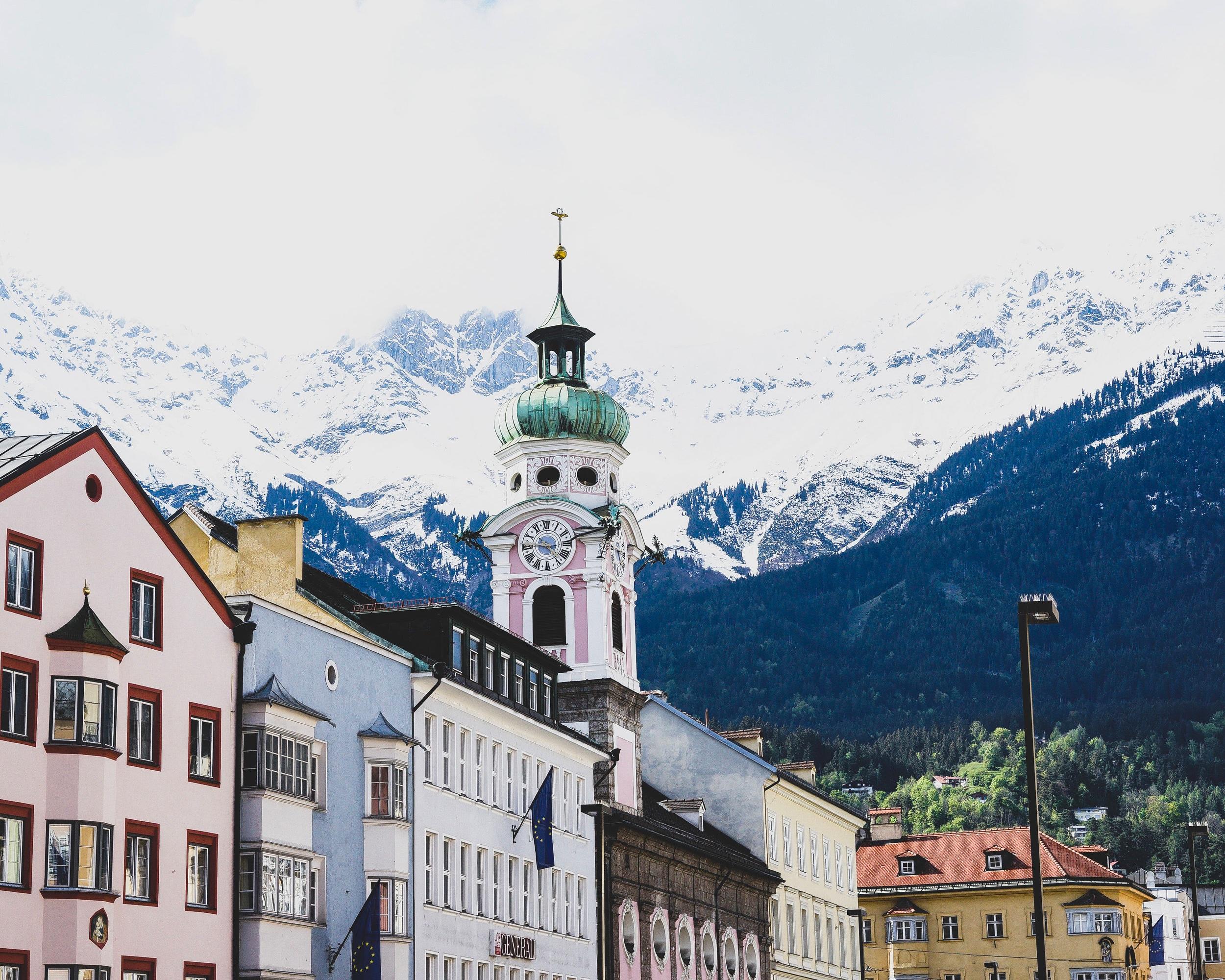 Third Stop: Innsbruck, Austria - Old Town