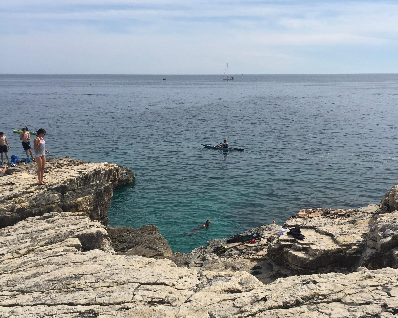 dive in croatia