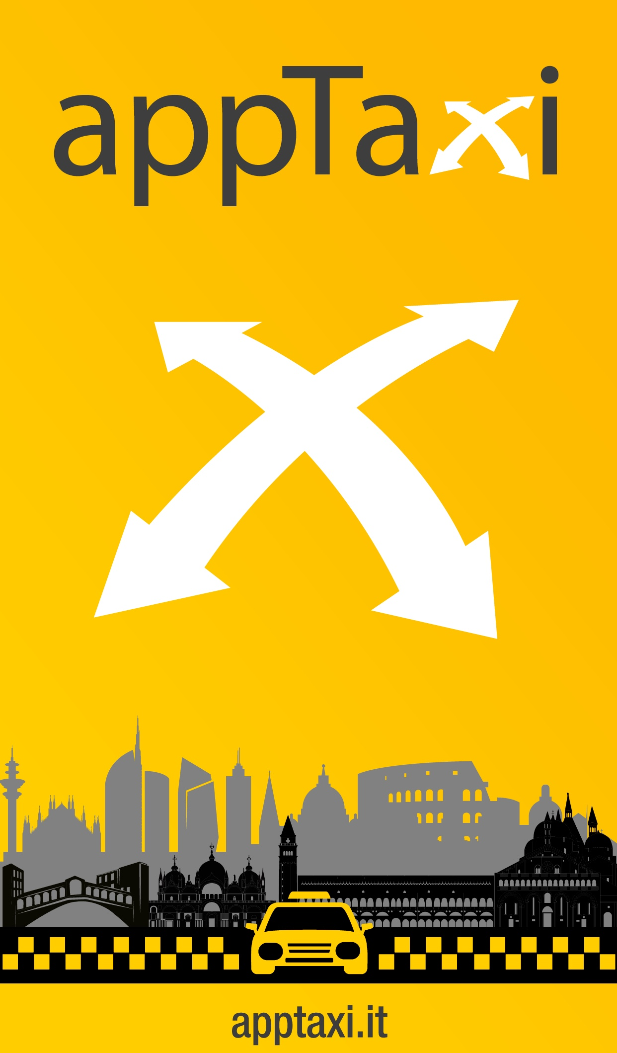 appTaxi:Taxi Service in Florence & Bologna. Request a taxi & pay in the app. - Linked to your payment method of choice.