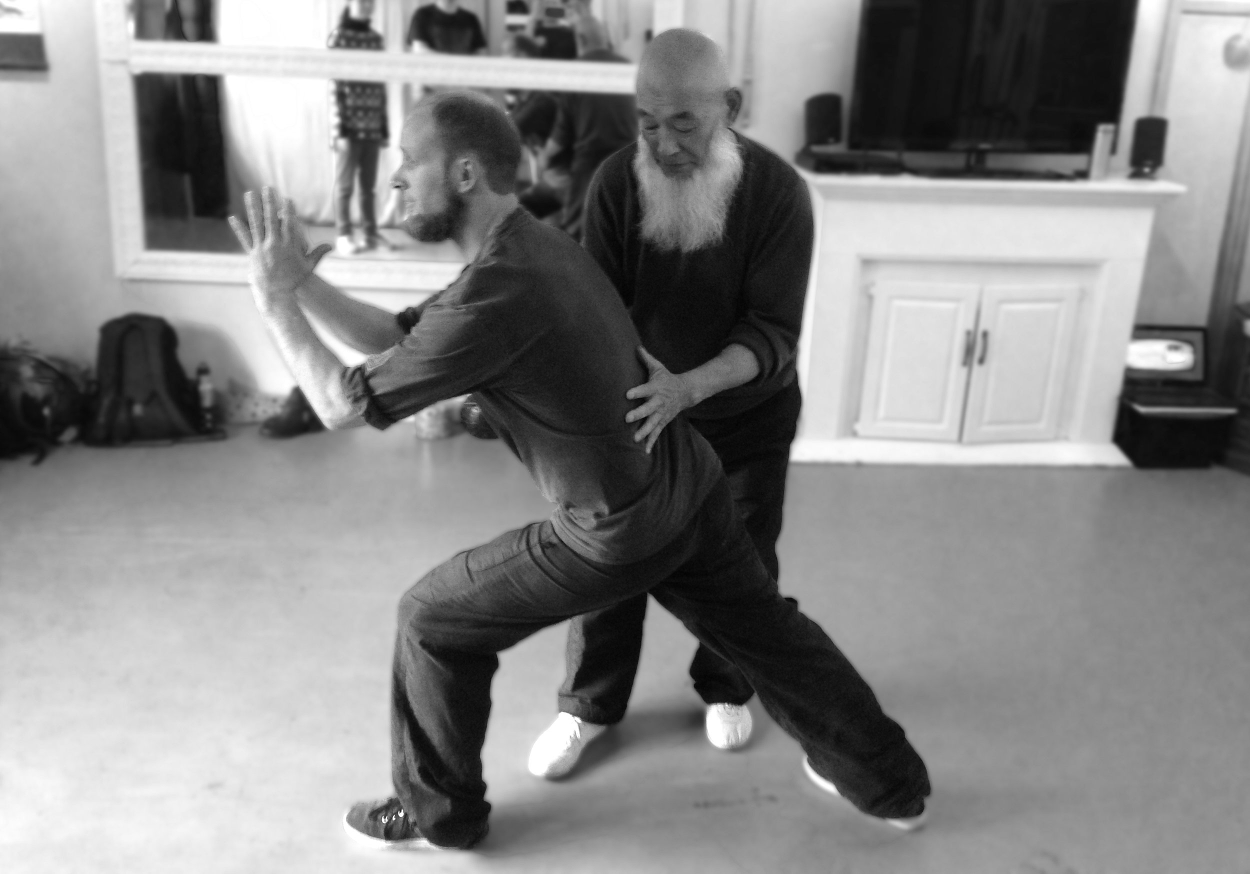 Squamish 2016 - Master Yang leading a workshop