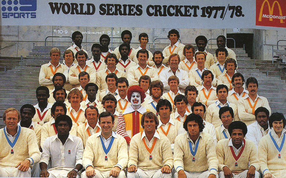 Image: Kerry Packer's World Series. Image credit - ESPNCricinfo.
