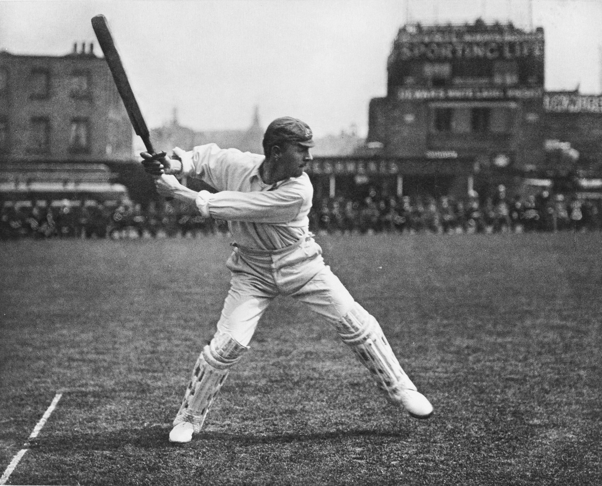 Image: The famous Victor Trumper drive captured by George Beldam