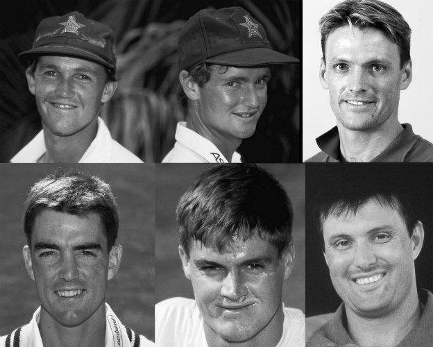 Image: Clockwise, from top left: Andy and Grant Flower, Gavin and John Rennie, Bryan and Paul Strang © Getty Images