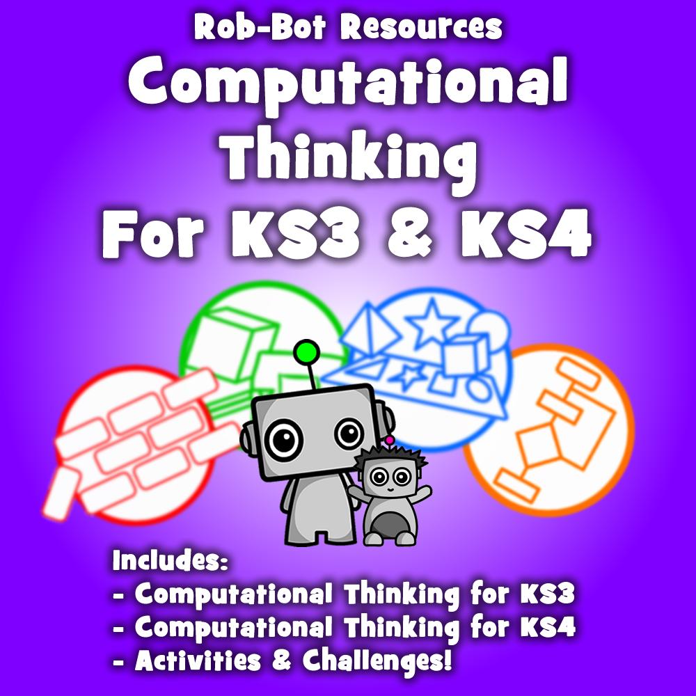 Computational Thinking for KS3 & 4! - £4.49