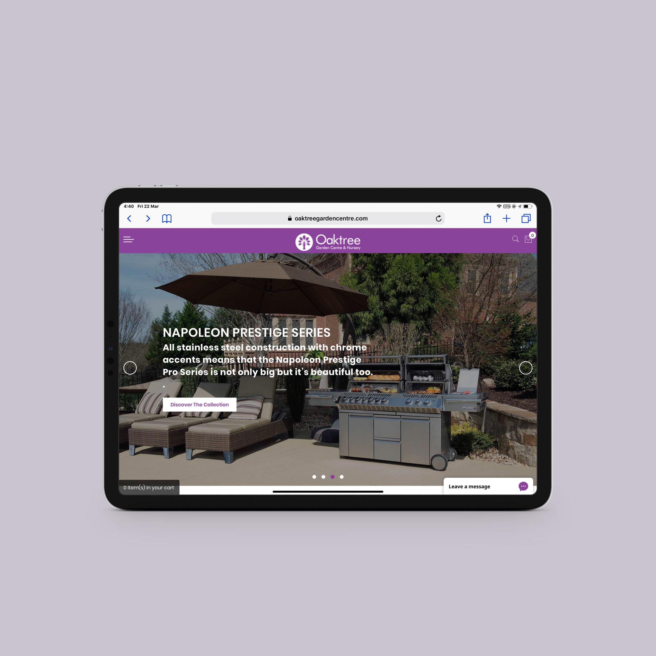 Oaktree Garden Centre | Homepage