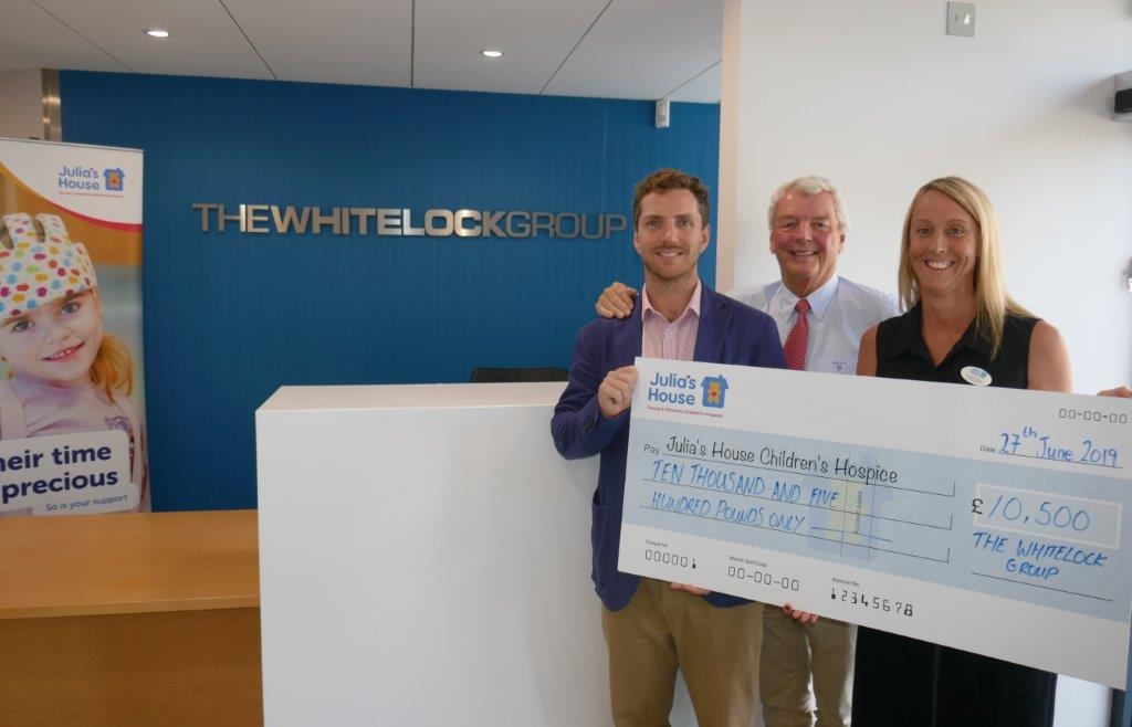 The Whitelock Group supporting Children's Hospice, Julia's House
