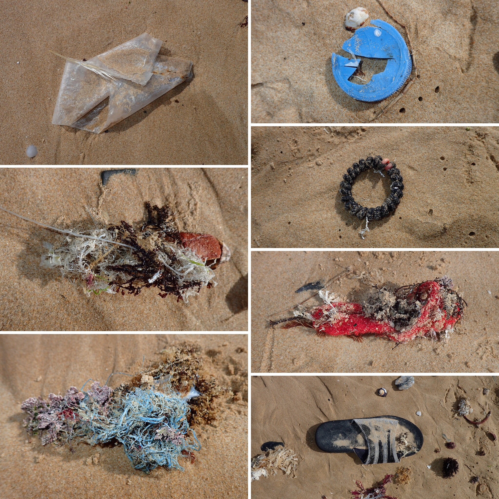 Tired of this being your beach experience? Have your own clean-up every time you visit. You can make a difference! Photos: @ritasteyn