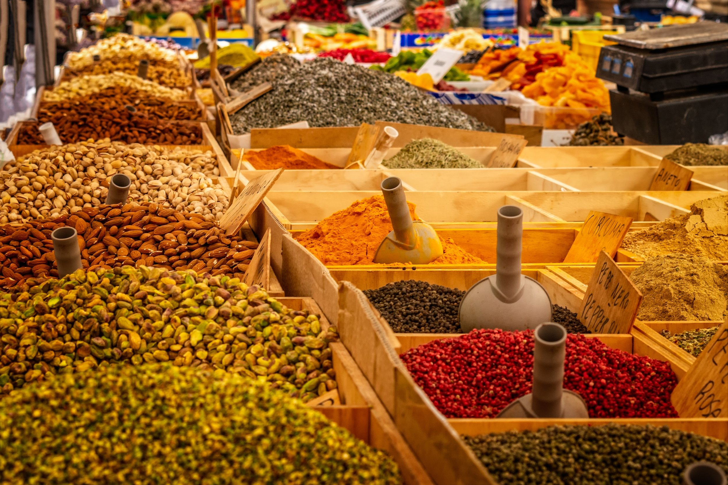 Bulk and zero waste stores have grains, spices, herbs and more! Photo: Pixabay