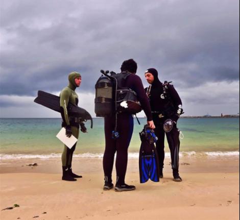 Dive briefing before a survey! Photo: Cape RADD