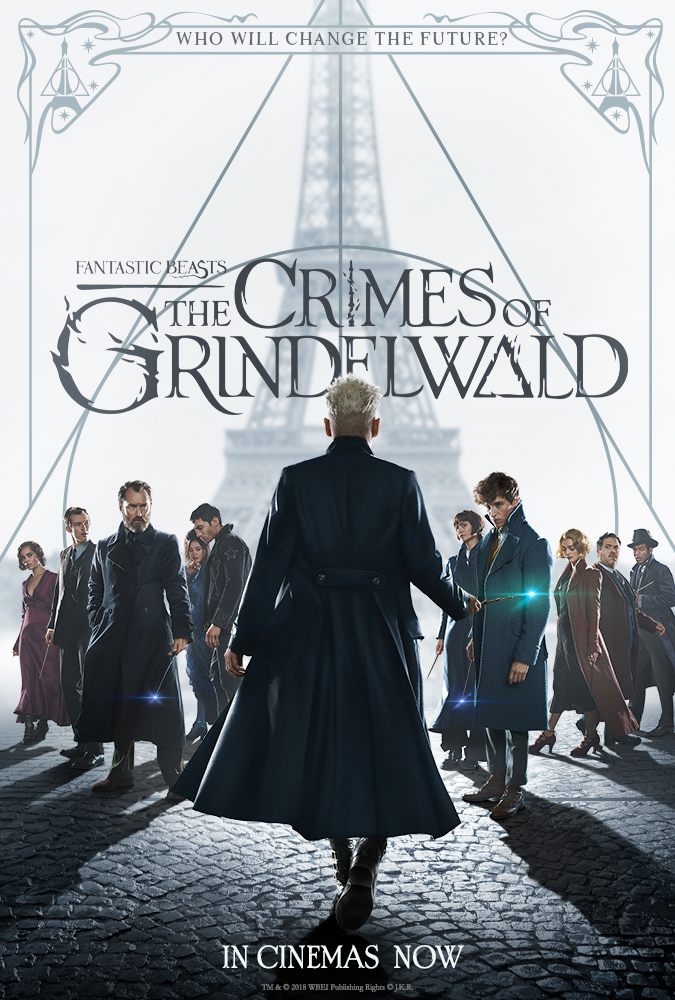 Fantastic Beasts: The Crime of Grindelwald - Directed by David YatesWritten by J.K. RowlingWith Eddie Redmayne, Jude Law, Johnny Depp…