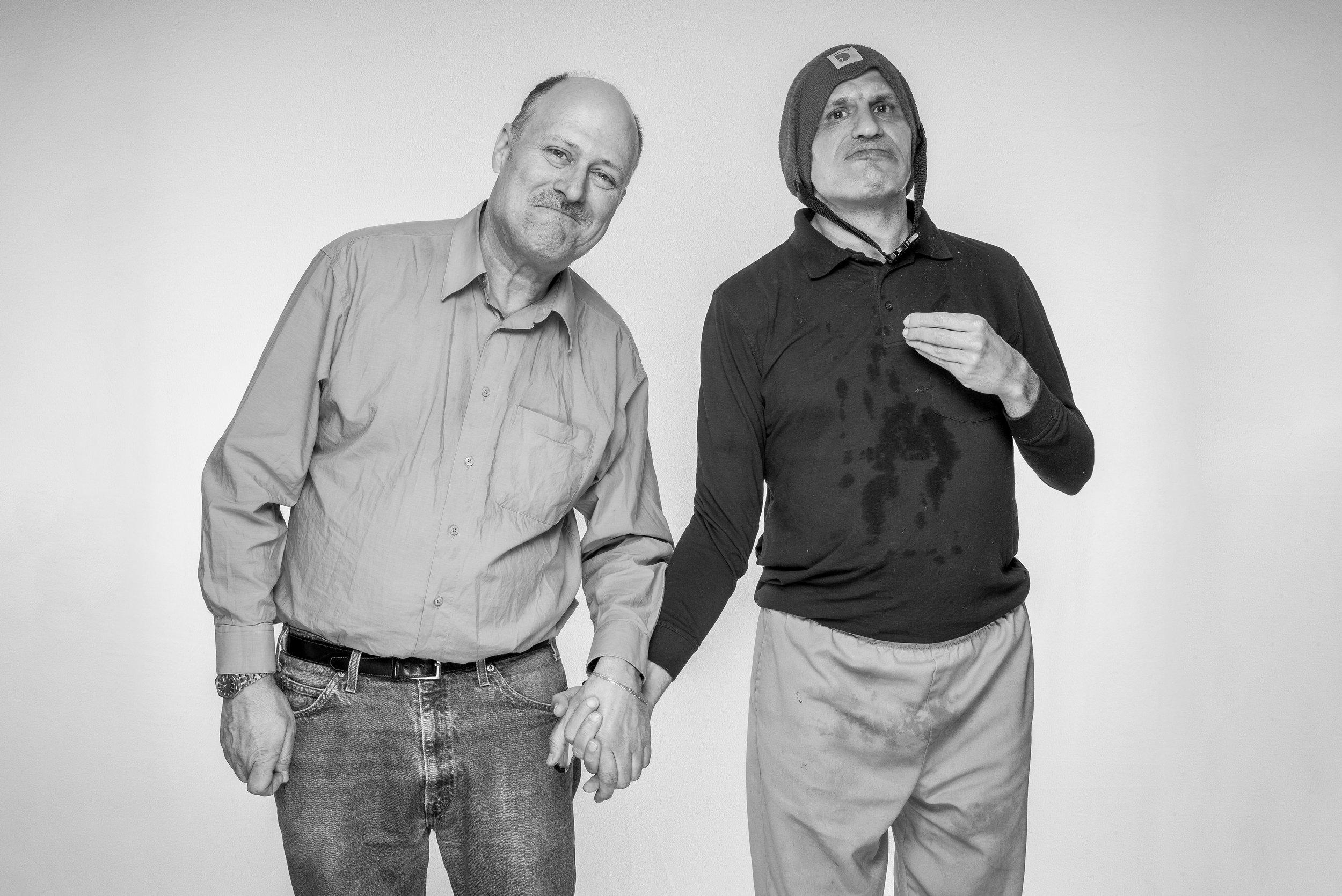 The Denton Family: Bob and Scott
