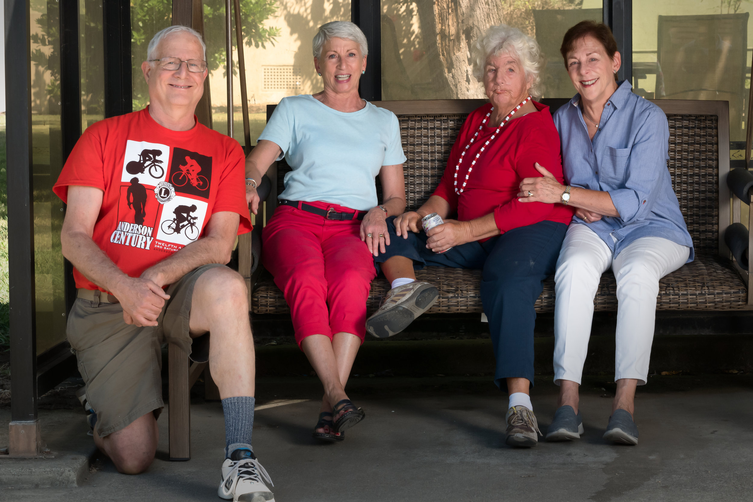 Barbara Volken and her brother and sisters Thomas, Diane and Cathy
