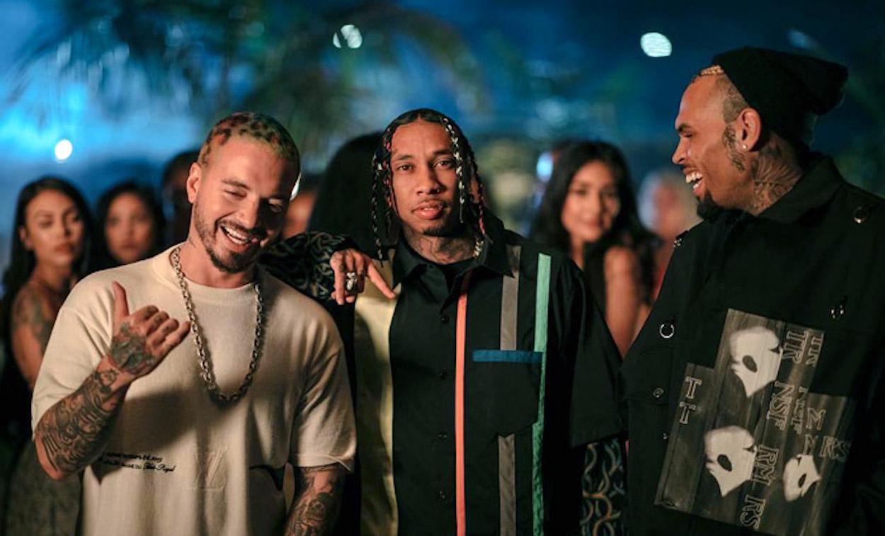 Photography: Tyga, Chris Brown & J Balvin