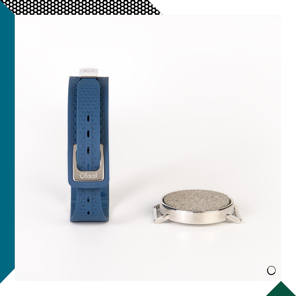 Le coffret - Un coffret unique avec un module olfactif et un bracelet Olaaf