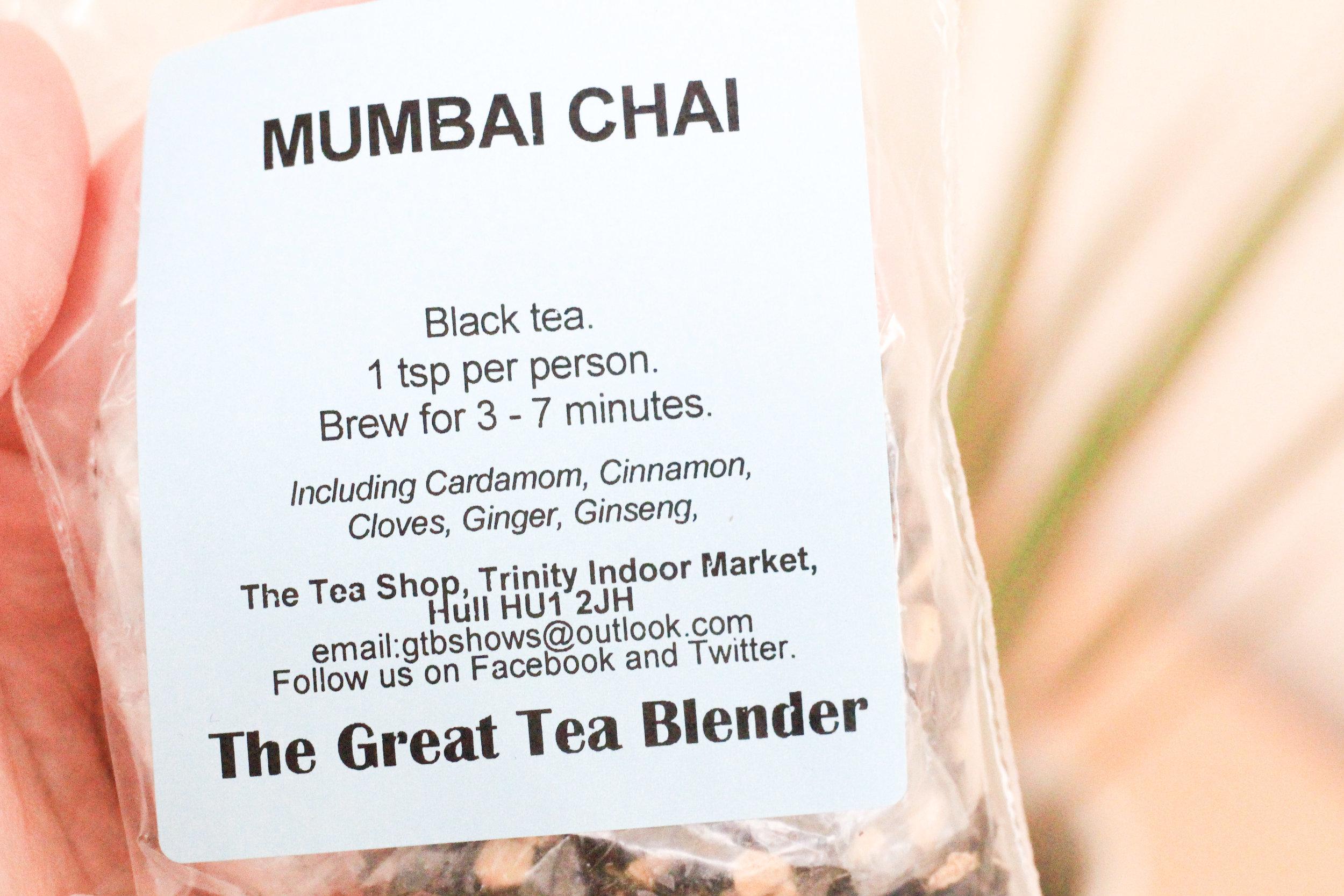 The Tea Room Hull Mumbai Chai 2