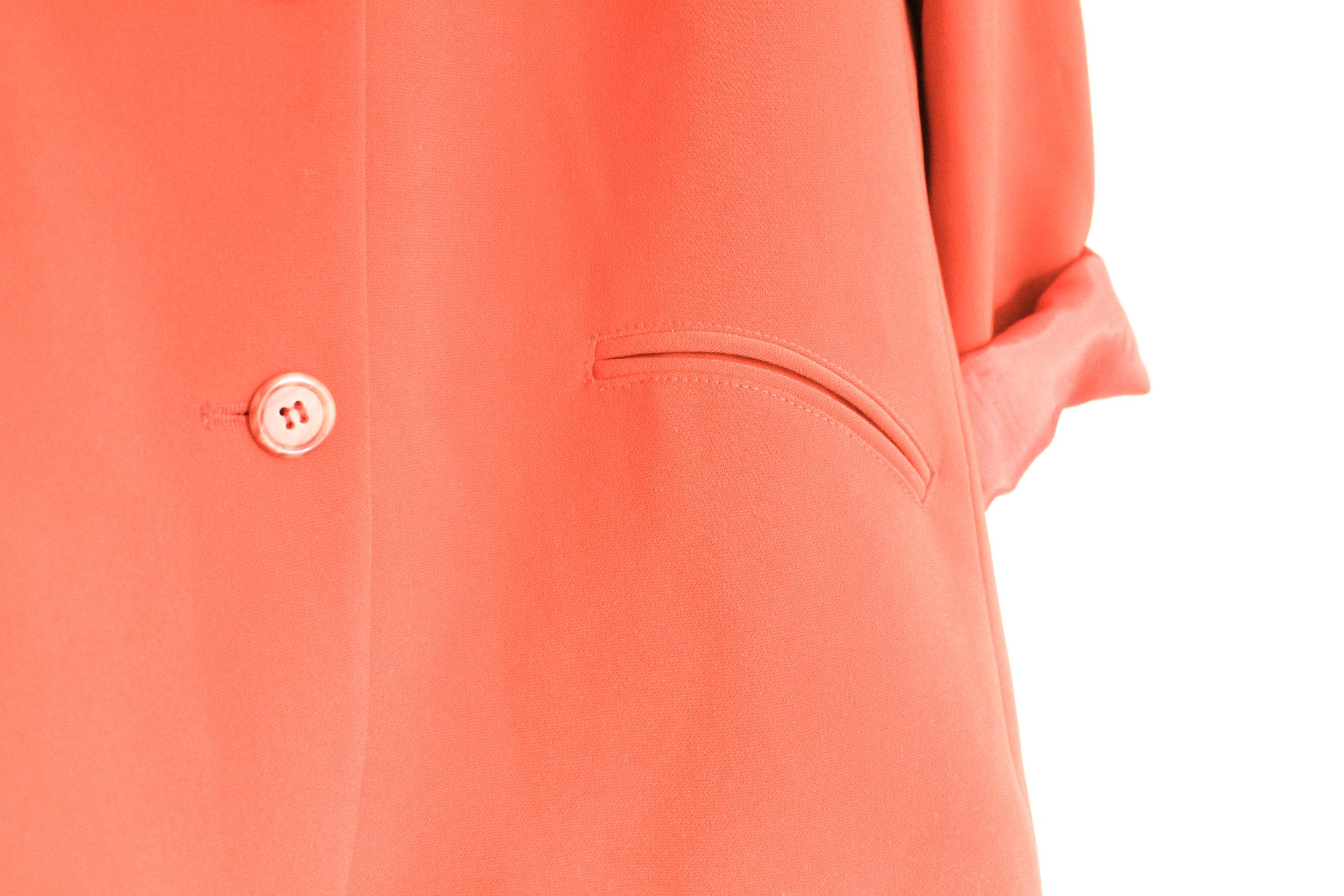 VOLD Fashion 90s Orange Blazer Review