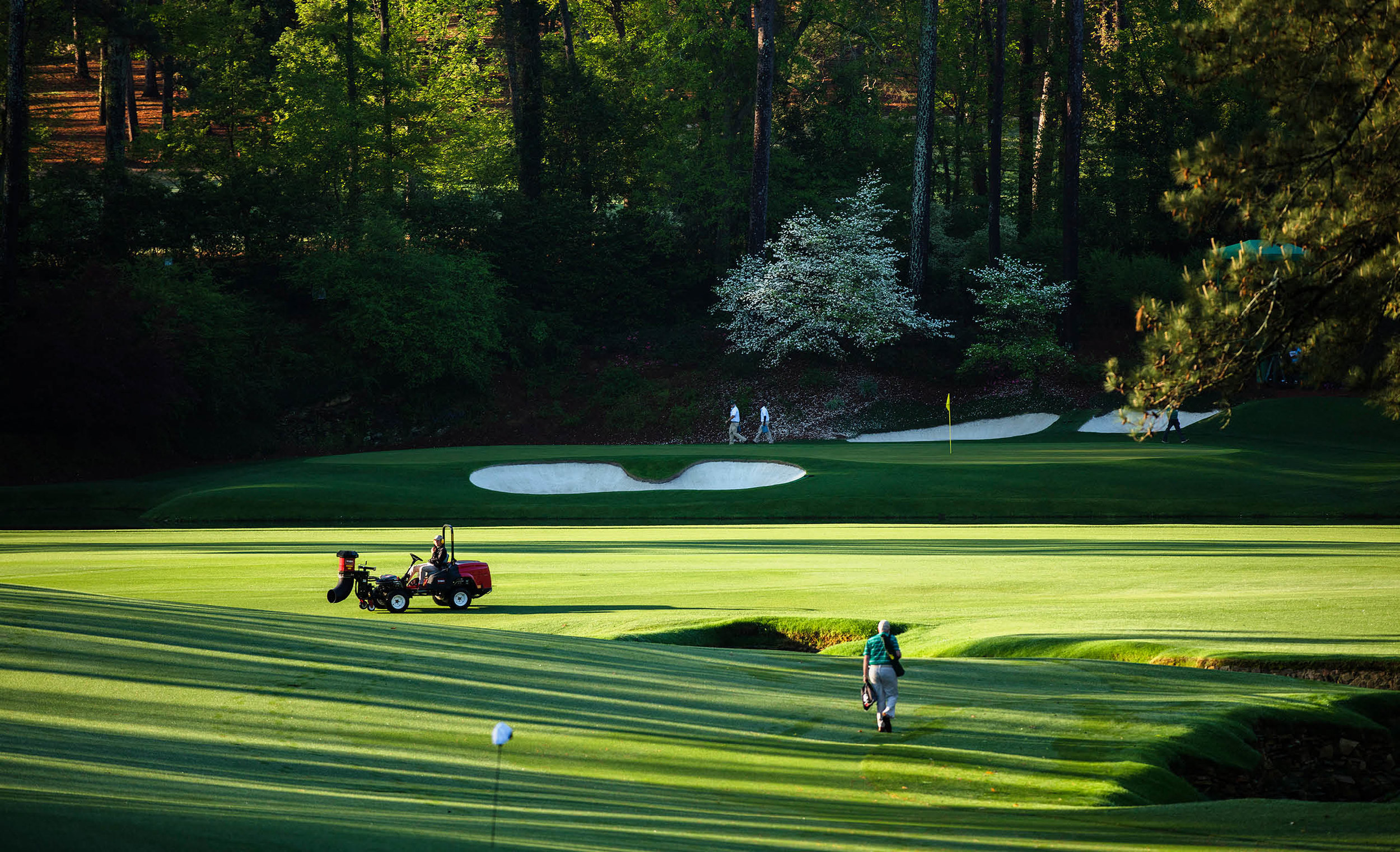 """If there's a golf course in heaven, I hope it's like Augusta National."" - Gary Player"