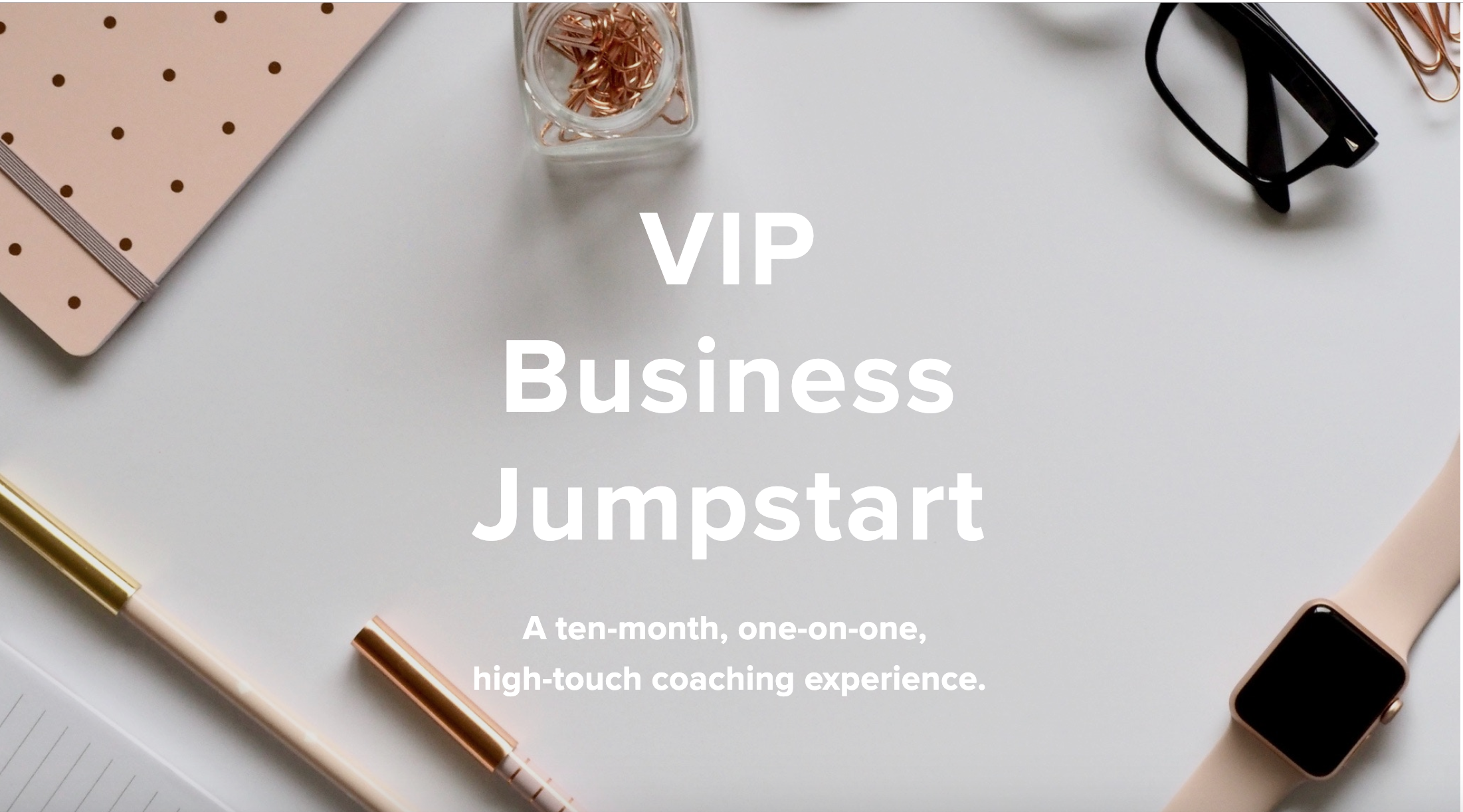 VIP Sales Page Design + Website ReBrand for Mimibishop.com