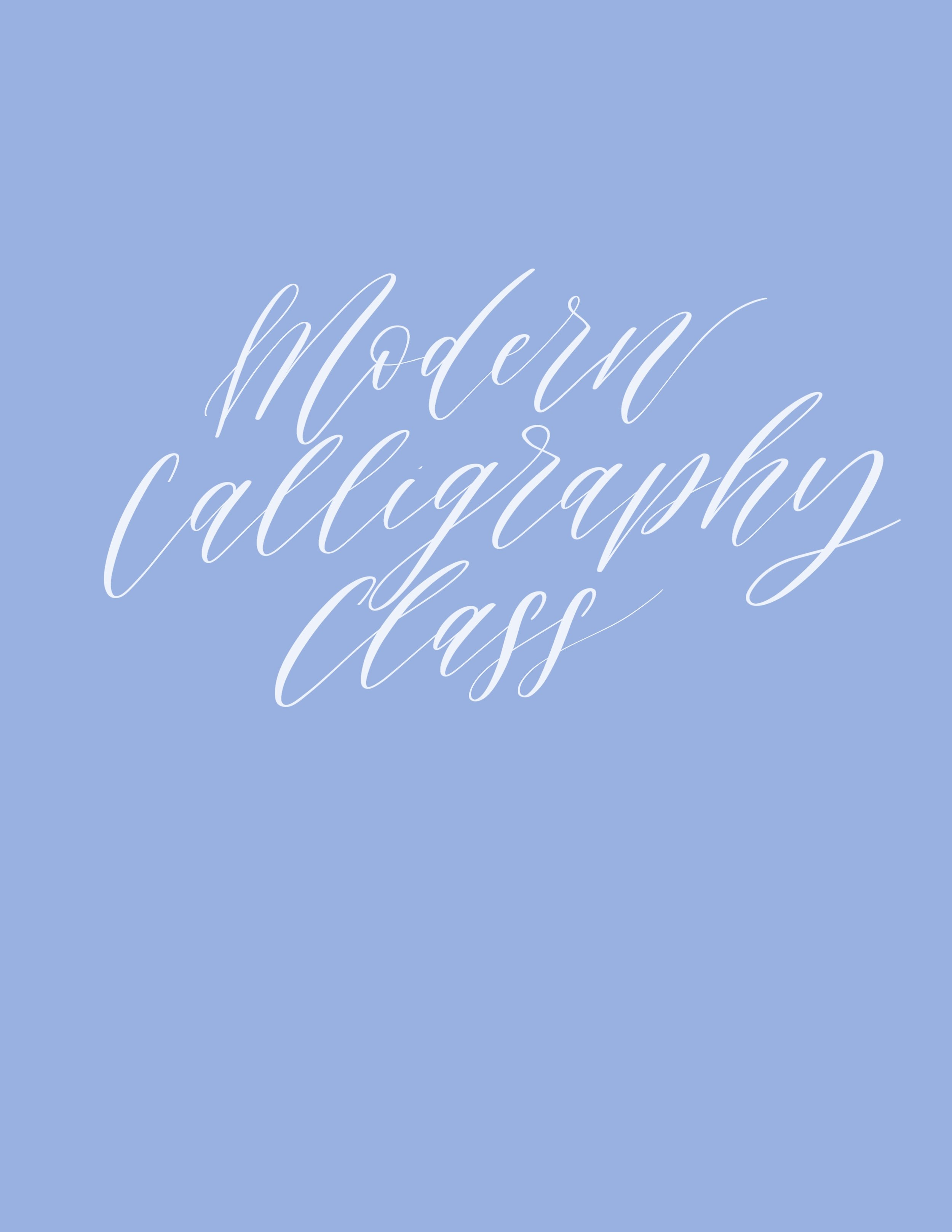 Interested in learning more about the art of modern calligraphy? In this beginner class I will walk you through the alphabet A-Z. You will learn the basic strokes of each letter.  Each participant will receive the following   ~ my 50 plus page manual which includes step by step directions on how to create each letter, tracing page, and practice page   ~ relevant materials (paper, brush pens, etc)   If interested in purchasing   1. Email me the following information   ~ number of participants   - area of interest (brush lettering, etc)  - Location (This class is for the local Greenville, South Carolina area)