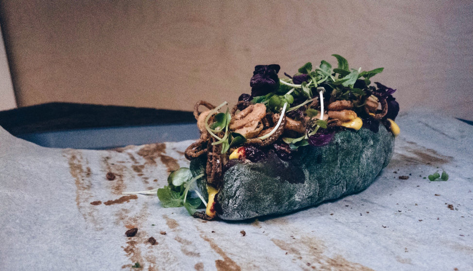 Experimenting with algae is becoming a trend in the culinary world. Photo credit: Space10