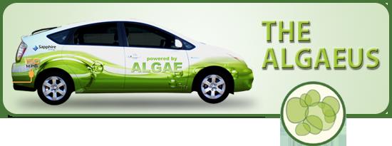 The Algaeus, an entirely algae-fueled car. Credit: Fuel Film