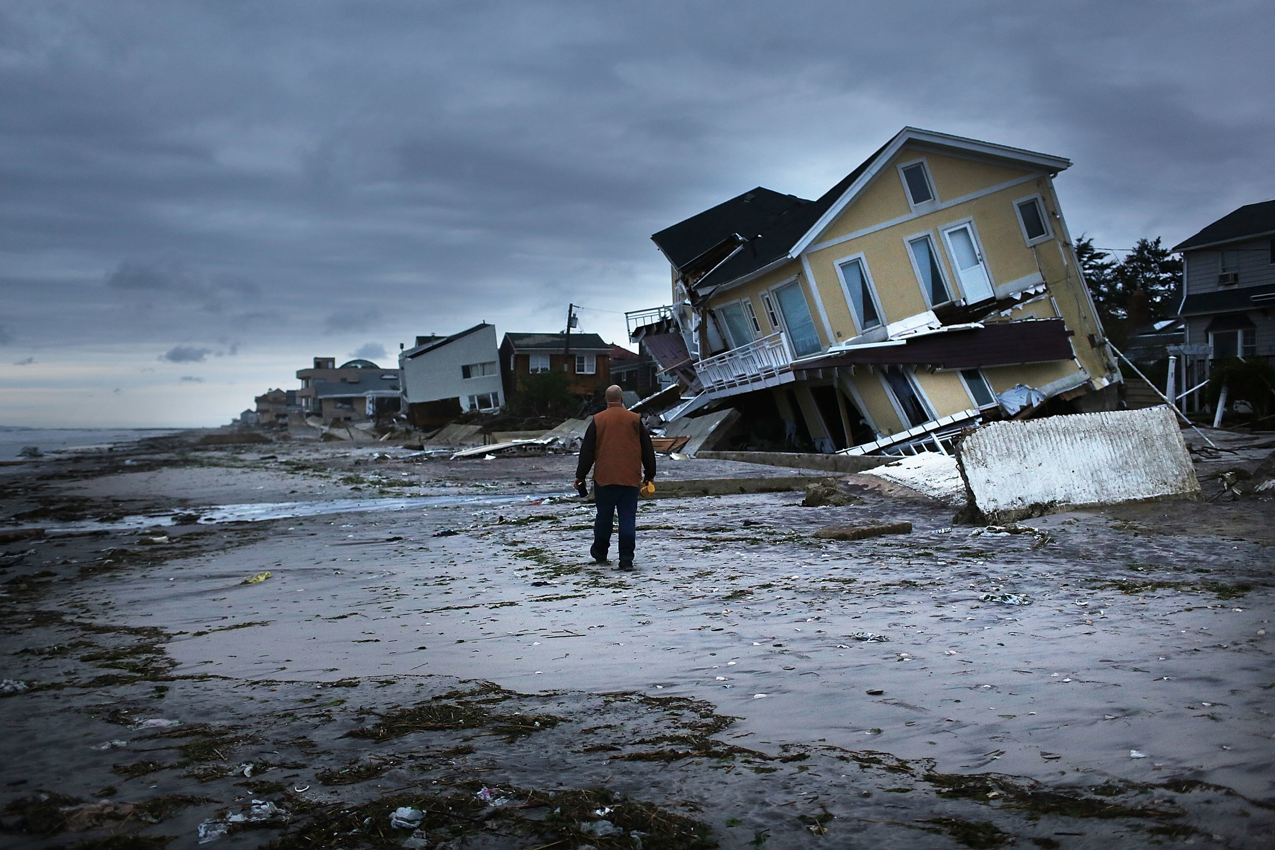 Hurricanes have increased in severity in recent years, devastating coastal cities and island nations. Photo credit: Fortune