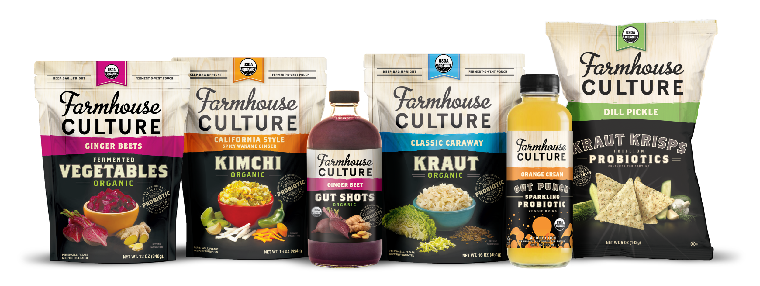 General Mills recently invested in Farmhouse Culture, a company which produces a variety of probiotic-rich foods. Photo credit: Farmhouse Culture
