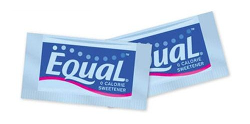 Equal is just one of the numerous artificial sweeteners used today. Artificial sweeteners are sweet, but have zero calories because they bind the same receptors as glucose on your tongue, but cannot be metabolized.