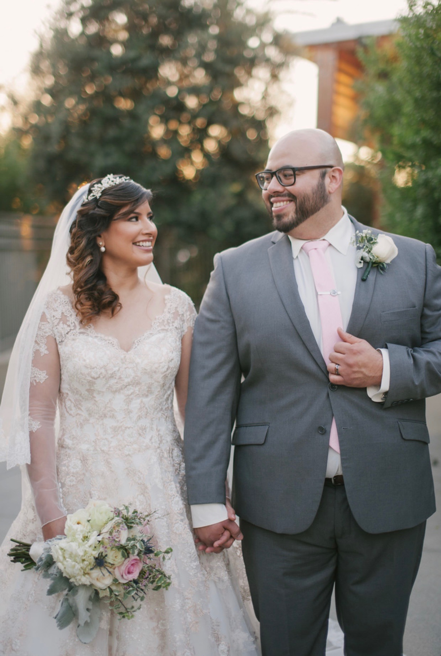 Elizabeth and Ronnie's wedding was a huge success. Photo credit: DnA Wylie Photography