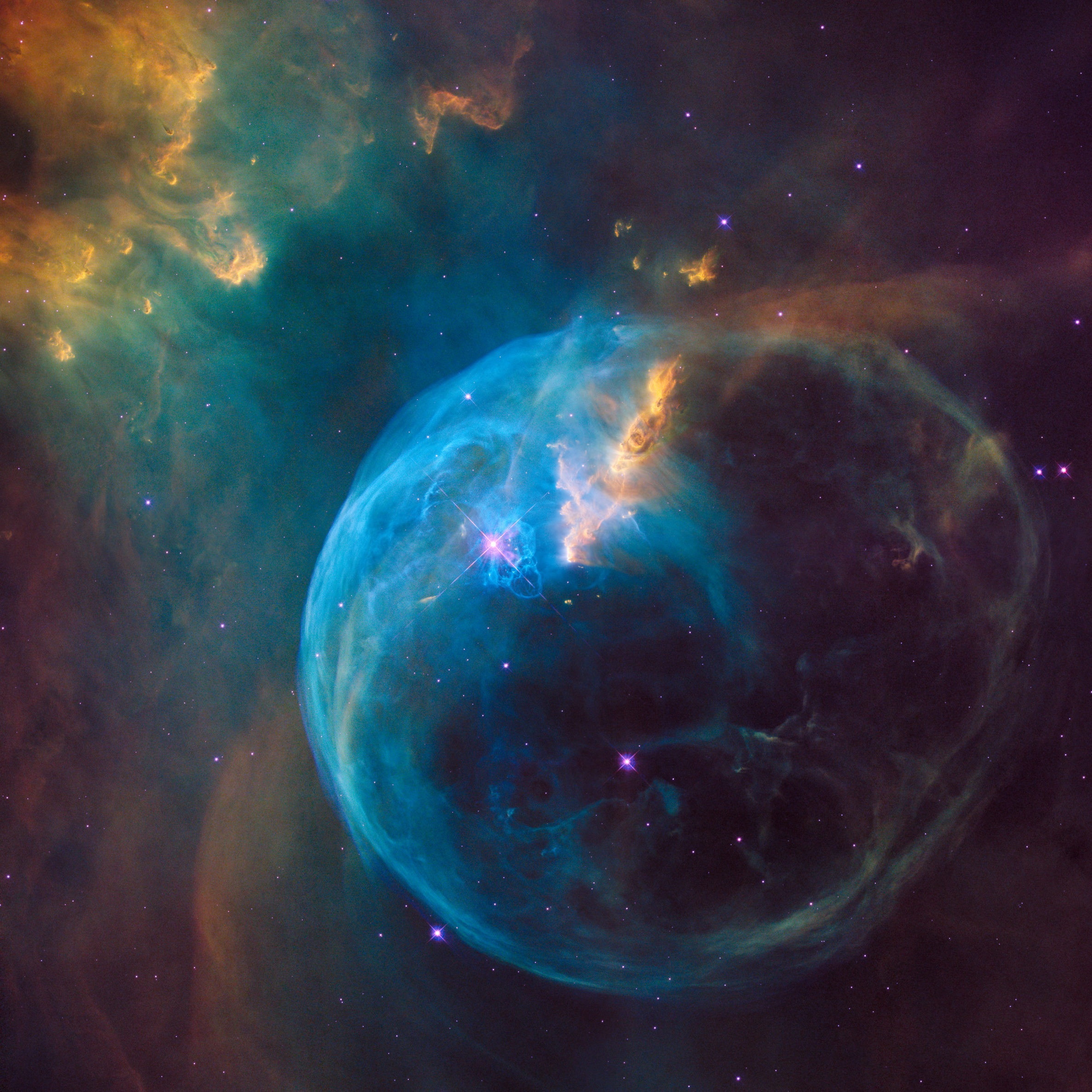 All images credited to NASA Hubble Space Telescope.